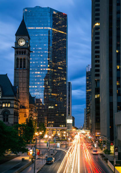 Photograph - Queen St At Night by Levin Rodriguez