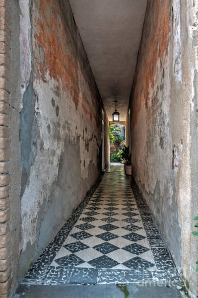Photograph - Queen Street Hallway by Dale Powell