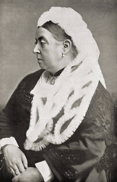 Wall Art - Photograph - Queen Victoria by English Photographer