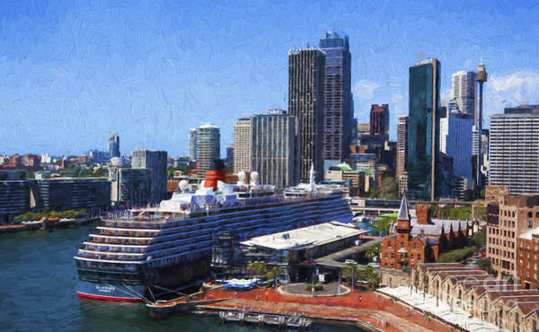 Wall Art - Photograph - Queen Victoria In Sydney Harbour by Sheila Smart Fine Art Photography