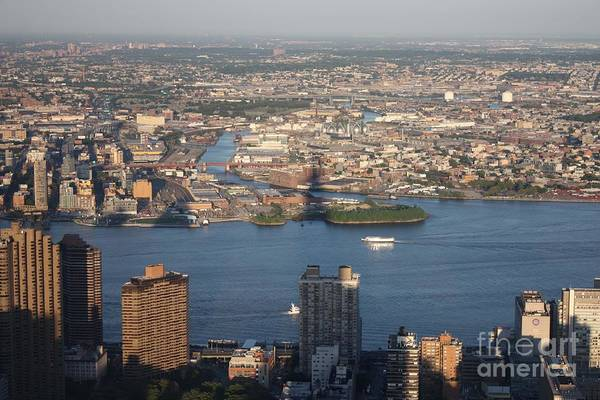 Wall Art - Photograph - Queens And Long Island From The Empire State Building  by John Telfer