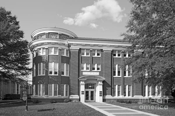 Photograph - Queens University Of Charlotte Skyes Learning Center by University Icons