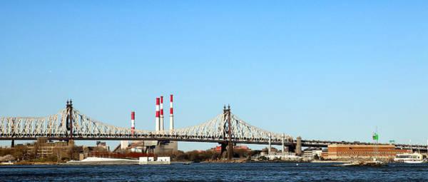 Roosevelt Island Wall Art - Photograph - Queensboro Bridge by Jim Poulos