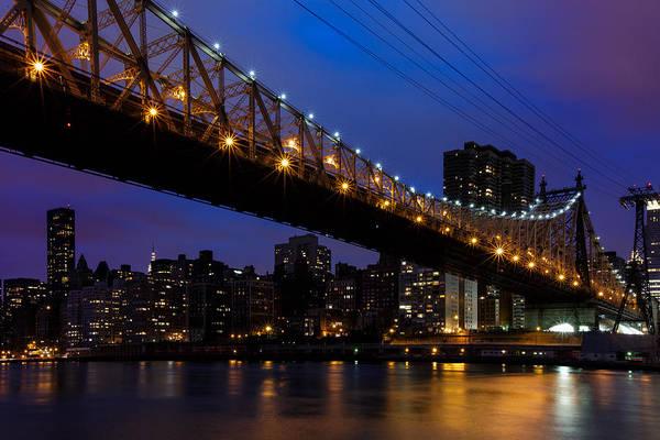 Photograph - Queensboro Bridge by Rick Berk