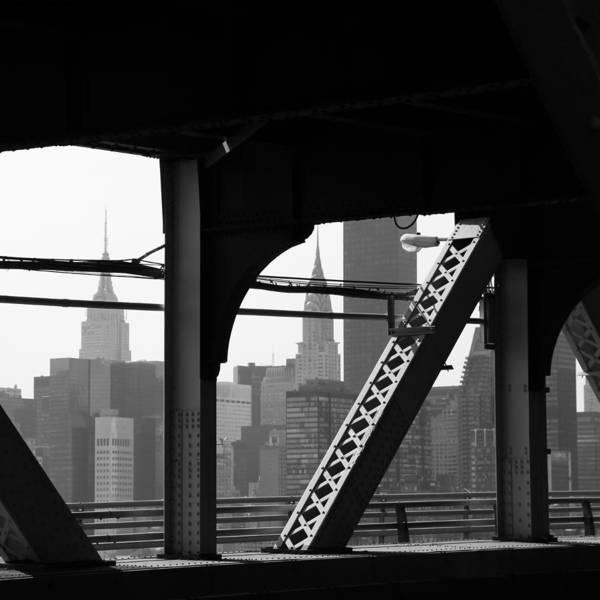 Photograph - Queensborough Bridge 3 by Andrew Fare