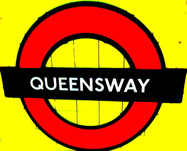 Wall Art - Photograph - Queensway Tube Station London  by Funkpix Photo Hunter