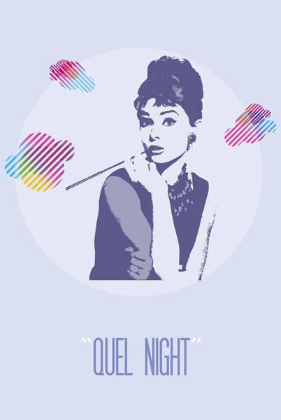 Painting - Quel Night by Florian Rodarte