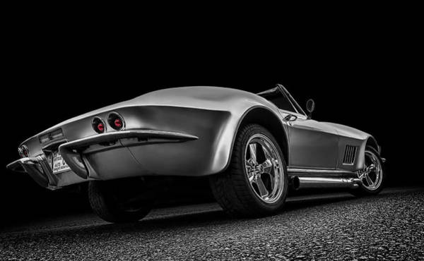 Corvette Wall Art - Digital Art - Quick Silver by Douglas Pittman