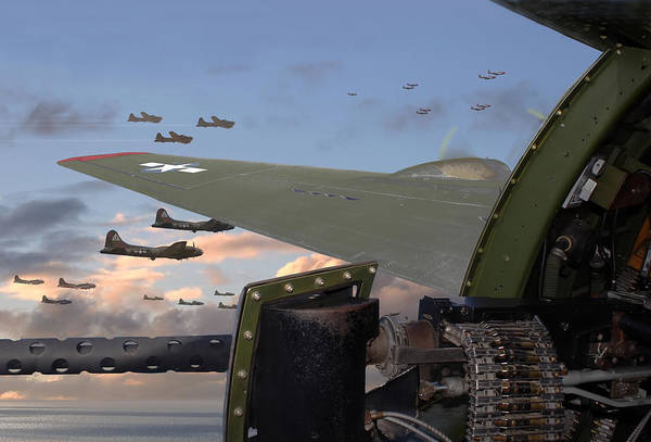 World War 2 Digital Art - Quiet Before The Storm by Pat Speirs