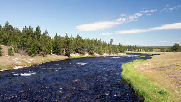Firehole River Wall Art - Photograph - Quiet Calm By The River by Gail Shotlander