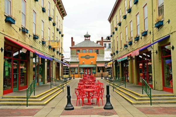 Findlay Market Photograph - Quiet Day At Findlay Market by David Earl Johnson