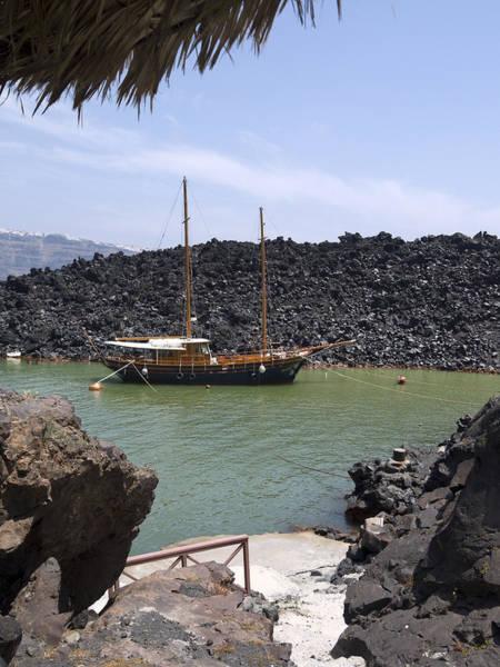 Photograph - Quiet Harbour At Volcano by Brenda Kean