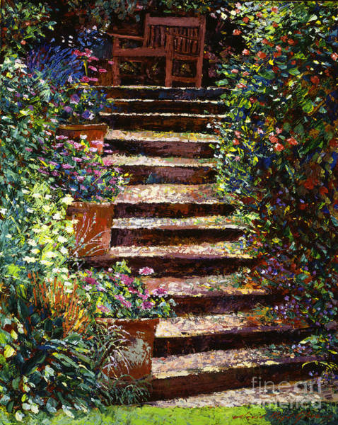 Painting - Quiet Hideaway by David Lloyd Glover