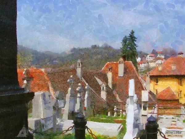 Buried Painting - Quiet Neighbors by Jeffrey Kolker