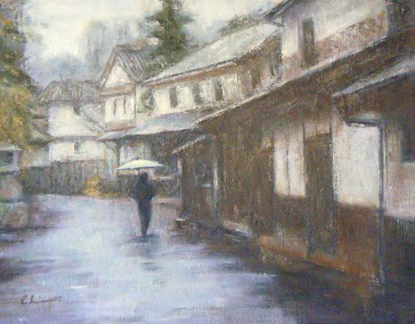 Quiet Rain - Japan Art Print by Chisho Maas