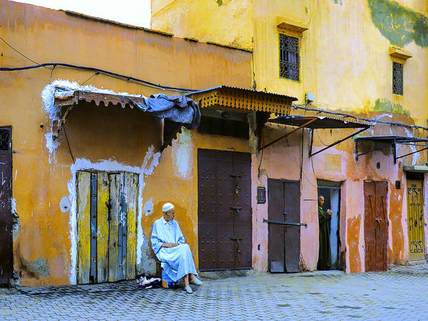 Casbah Photograph - Quiet Time by Dominic Piperata