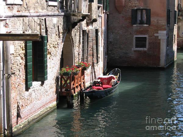Photograph - Quiet Venice Parking Place by Michael Helfen