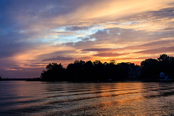 Wall Art - Photograph - Quiet Waters Sunset by Jennifer Casey