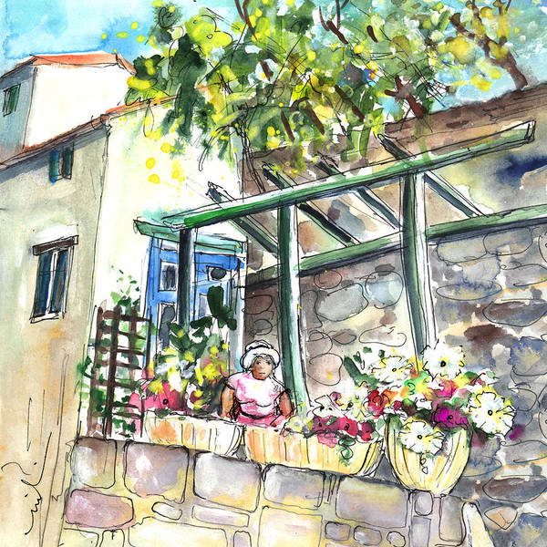 Southern France Painting - Quillan 04 by Miki De Goodaboom