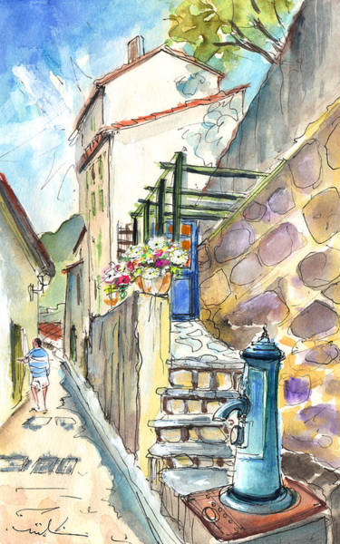 Southern France Painting - Quillan 05 by Miki De Goodaboom