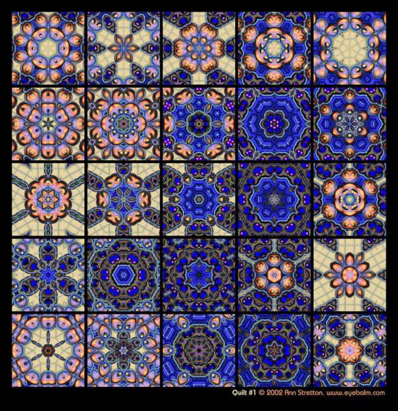 Quilt 1  Art Print