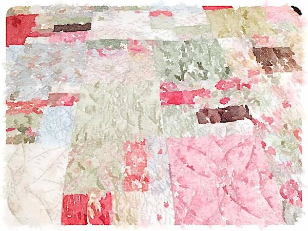 Quilter Digital Art - Quilt by Shannon Grissom