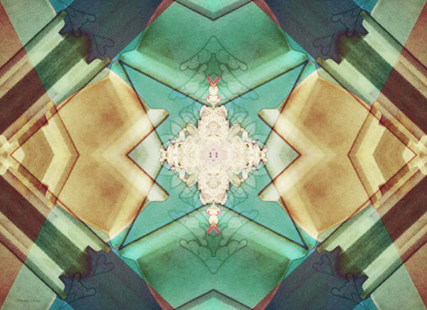 Bonsai Tree Digital Art - Quilted Origami 2 by Shawna Rowe