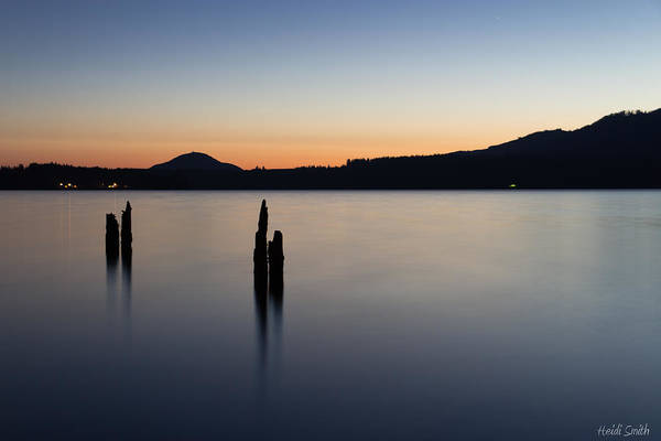 Shutter Speed Photograph - Quinault Calm by Heidi Smith