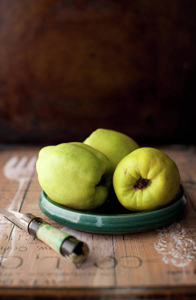 Quinces Photograph - Quince by Yelena Strokin