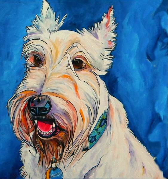 Painting - Quincy by Patti Schermerhorn