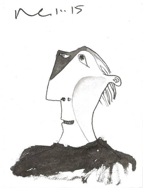 Figurative Drawing - Quinn by Mark M  Mellon