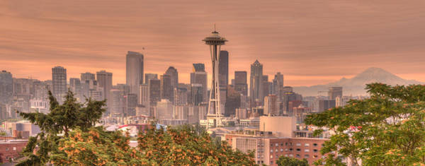 Wall Art - Photograph - Quintessential Seattle Skyline by Alvin Kroon