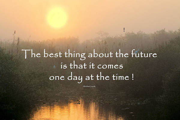 Photograph - Quote On Sunrise-2 by Rudy Umans