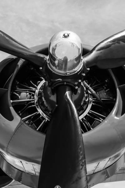 B24 Photograph - R-1830 by Chris Smith