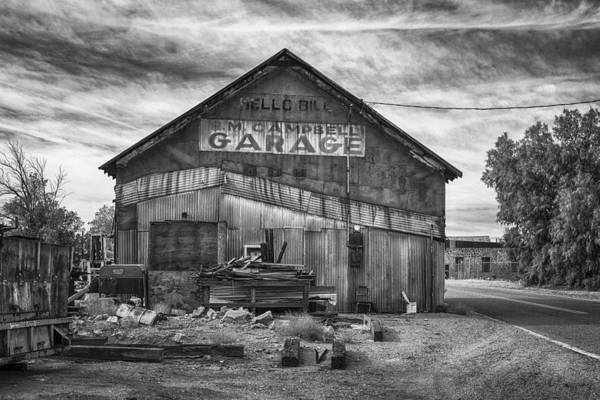 Photograph - R. M. Campbell Garage by Jim Thompson