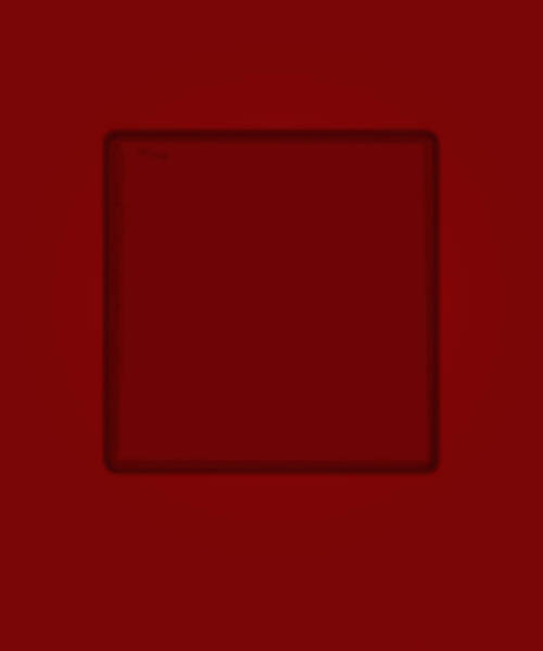 Photograph - Color Files Dark Red With Framed Square by Gene Norris