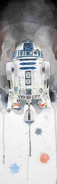 Star Wall Art - Painting - R2 by David Kraig