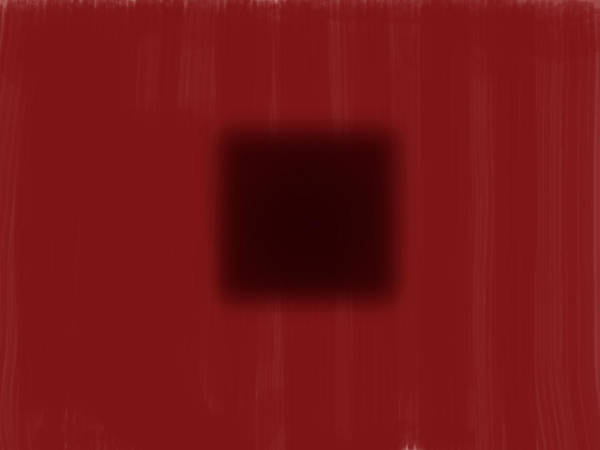 Photograph - Color Field Dark Red With Dark Square by Gene Norris