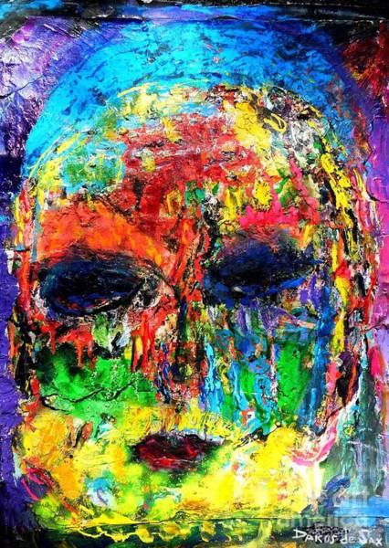 Sax Painting - Rabbi by Darlyne Sax
