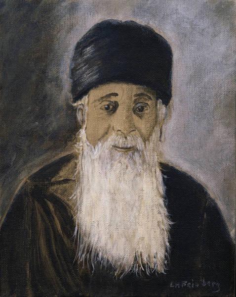 Painting - Rabbi Y'shia by Linda Feinberg