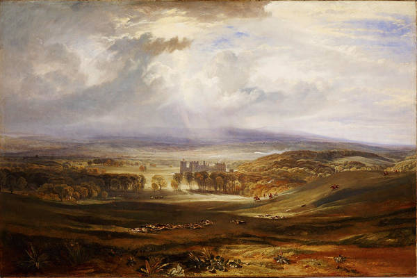 Painting - Raby Castle The Seat Of The Earl Of Darlington by Celestial Images
