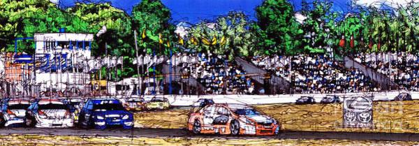 Race Car Painting - Race Car by Drawspots Illustrations