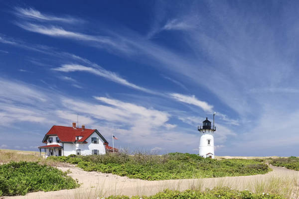 Provincetown Ma Wall Art - Photograph - Race Point Light by Bill Wakeley