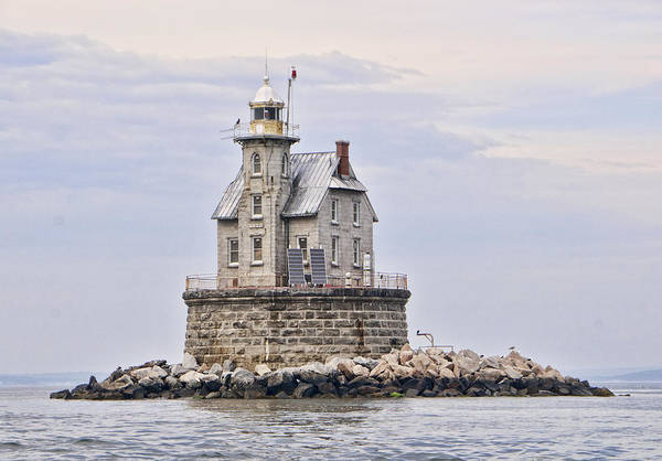 Fisher Island Photograph - Race Rock Lighthouse by Phyllis Taylor