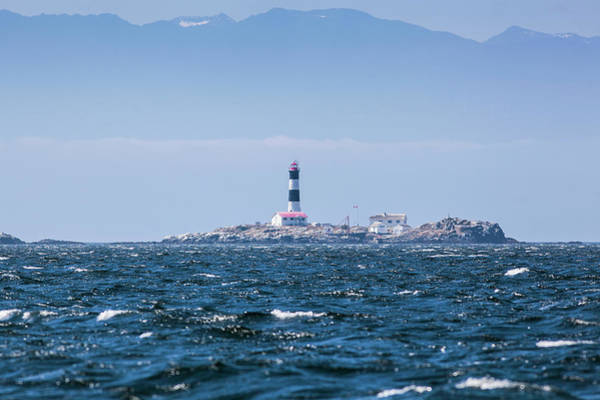 Vancouver Island Photograph - Race Rocks Lighthouse Is Situated On by Debra Brash / Design Pics