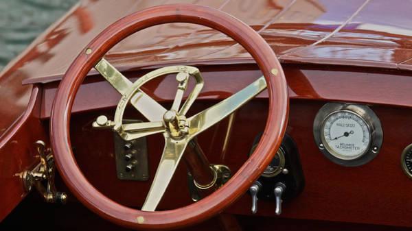 Photograph - Raceboat Instruments by Steven Lapkin
