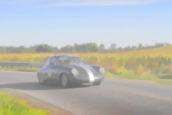 Photograph - Racer Porsch 356 by Jack R Perry