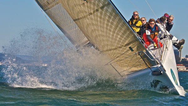 Photograph - Racer X On San Francisco Bay by Steven Lapkin
