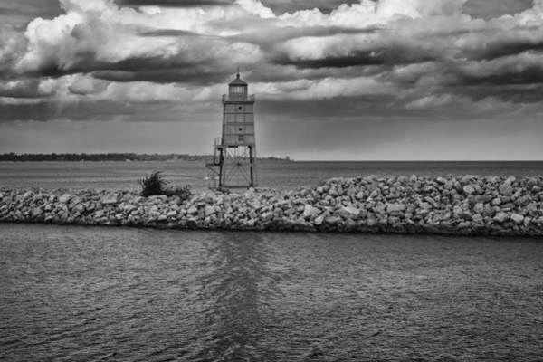 Photograph - Racine Lakefront In Hdr by Ricky L Jones
