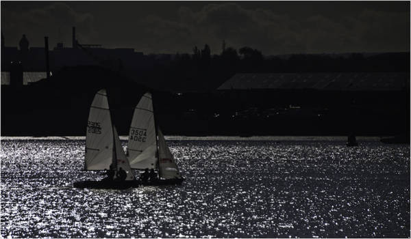 Wall Art - Photograph - Racing The Medway by Nigel Jones